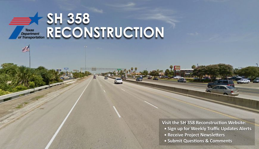 Link to SH 358 Reconstruction website